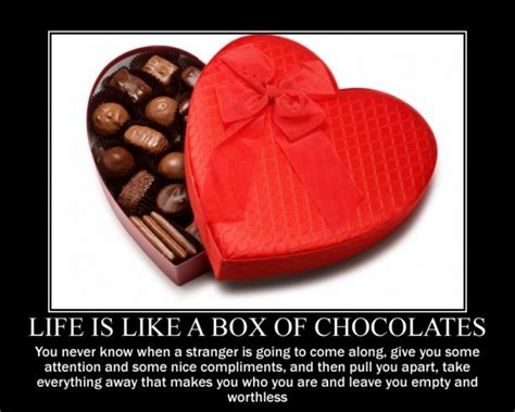 Life Is Like A Box Of Chocolates Meme - life is like a box of chocolates meme guy