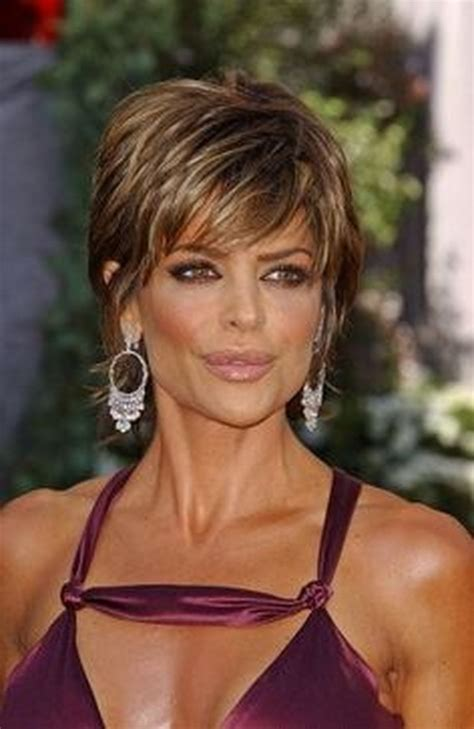 achieve lisa rinna hair cut hot new shag hairstyle short hairstyle 2013