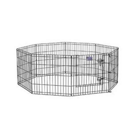 pens at lowes shop midwest pets 24 in x 24 in black metal indoor outdoor exercise pen at lowes