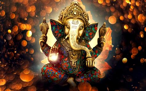 wallpaper lord ganesha vinayaka ganapati statue idol