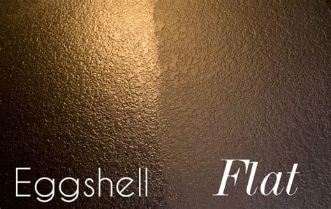 interior wall paint finish satin eggshell or matte flat