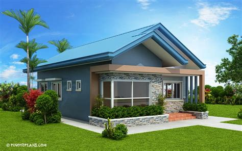 bedroom bungalow house plan home design