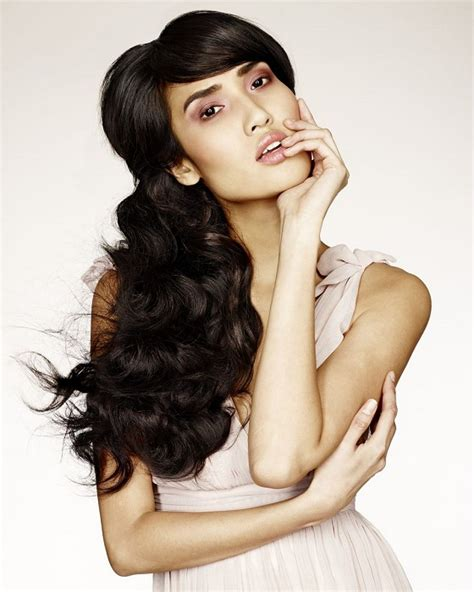 long flip hairstyles a long black hairstyle from the flip in hair collection by