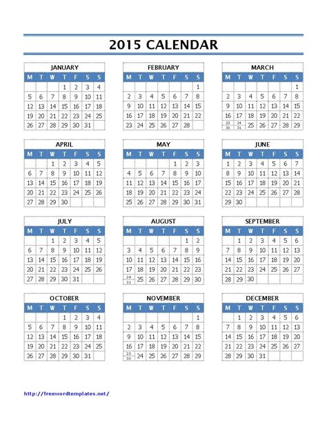templates for 2015 calendar 2015 calendar templates ms word templates