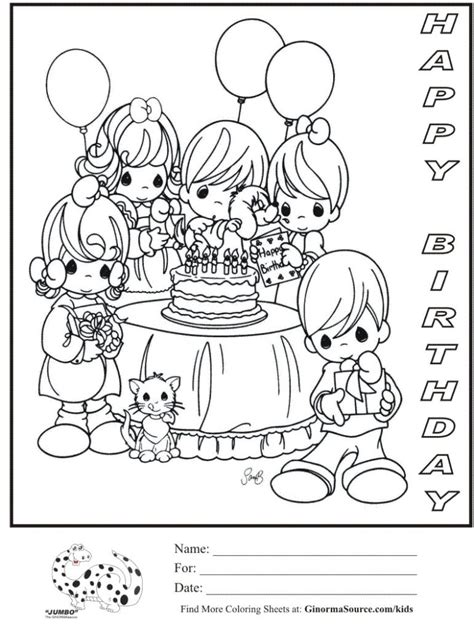 free coloring pages birthday party coloring pages happy birthday coloring pages for mom