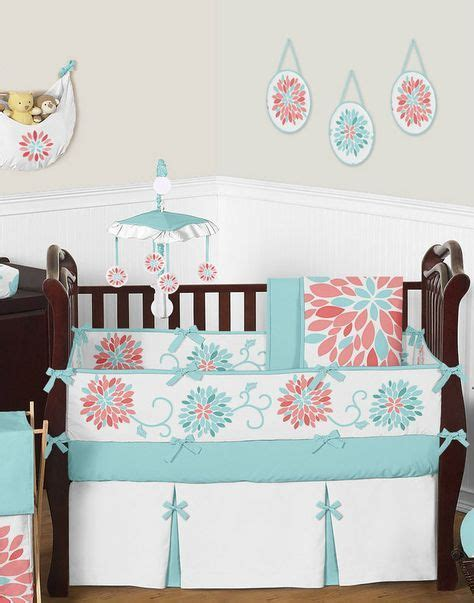 coral and turquoise baby bedding 17 best ideas about coral and turquoise bedding on pinterest coral and grey bedding