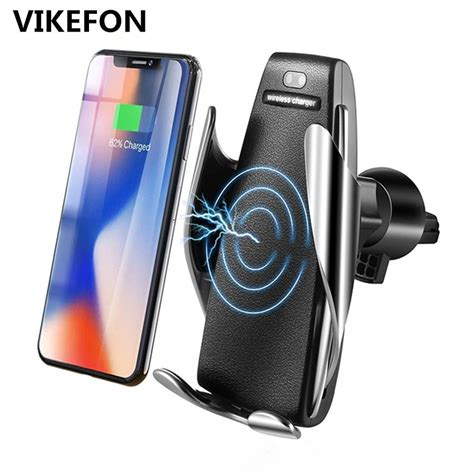 car qi wireless charger for iphone xs max x 10w fast wireless charging for samsung galaxy s9 s10
