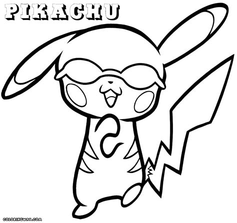 sleeping pikachu pokemon coloring pages coloring pages