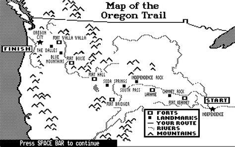 map of oregon trail through kansas oregon trail top topics the wiki