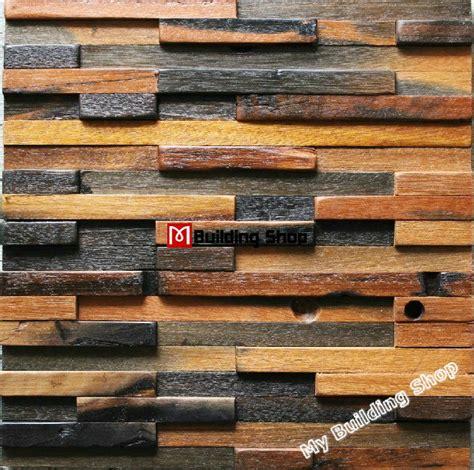 Discount Backsplash Tiles Wholesale - natural wood mosaic tile 3d wall pattern nwmt022 kitchen tile backsplash mosaic wood panel strip