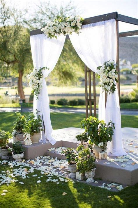 Outdoor Wedding Pictures by Wedding Outdoor Weddings And Backdrops On