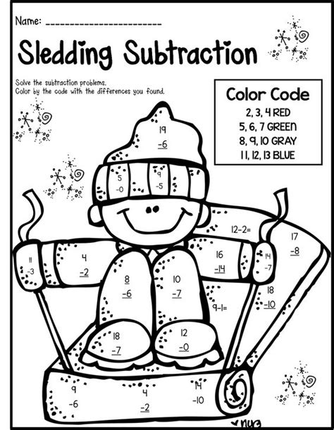 Free Coloring Pages For 2nd Grade Winter Math Literacy Print And Go 2nd Grade Ccss by Free Coloring Pages For 2nd Grade
