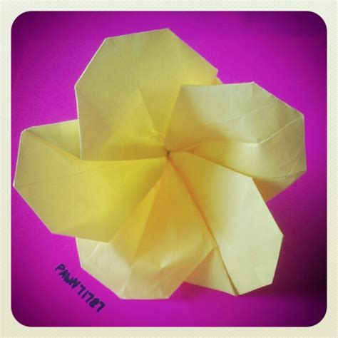 Plumeria Dollar Origami - 1000 images about origami on