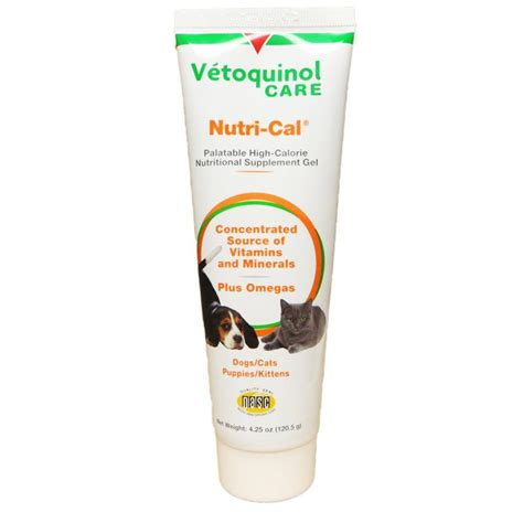 nutri cal puppy nutri cal for dogs and cats order vetoquinol nutrical paste