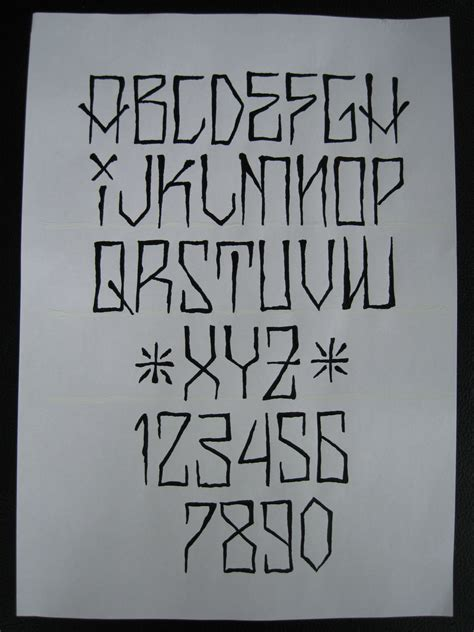 tattoo fonts a names lettering styles fancy fonts and