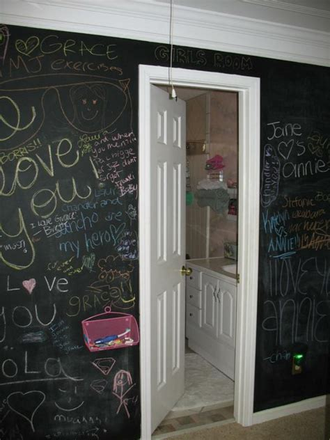 chalk paint for walls let you write on the walls