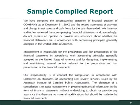 Report Vs Letter An Introduction To Financial Management And Reporting