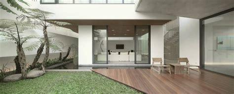 teras rumah minimalis modern  kolam ikan mm house karya studio tonton sumber arsitagcom