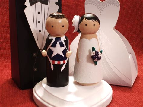 Handmade Cake Topper - adorable wedding cake toppers handmade wedding etsy
