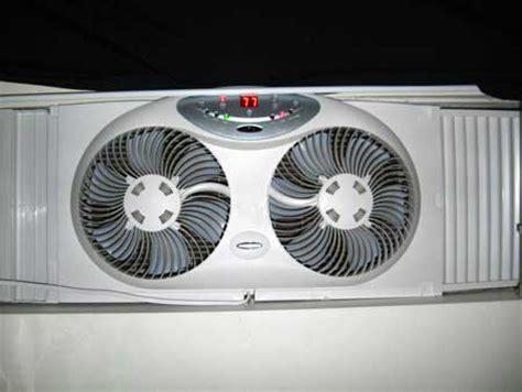 bionaire twin window fan air circulation exhaust tutorial grow weed easy
