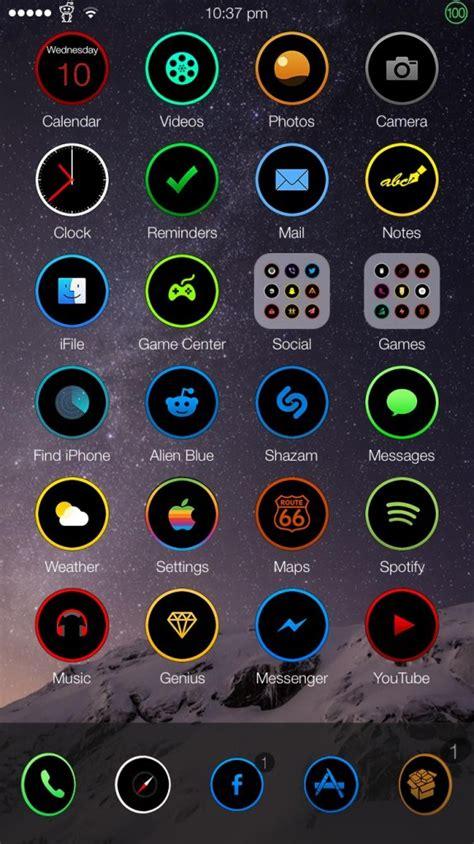 iphone themes names theme ios 8対応 新作テーマ20種 0 hour 8 antumbra arden他17種