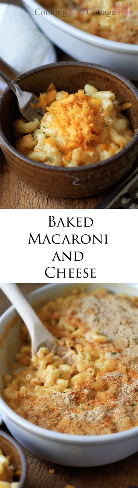 Baked Macaroni With Cottage Cheese by Baked Macaroni And Cheese Cooking Up Cottage