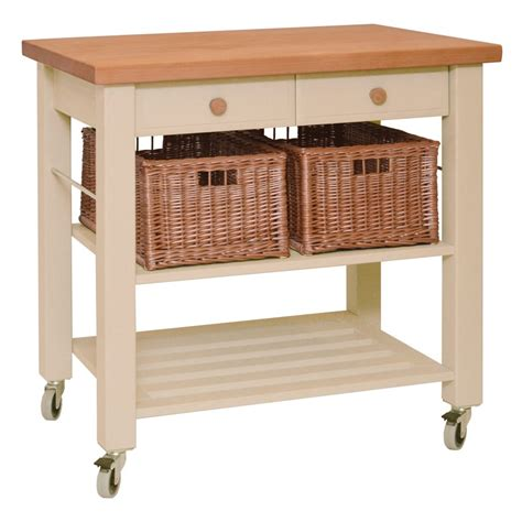 eddingtons butchers block trolley the leverton www eddingtons two drawer lambourn beech wooden kitchen