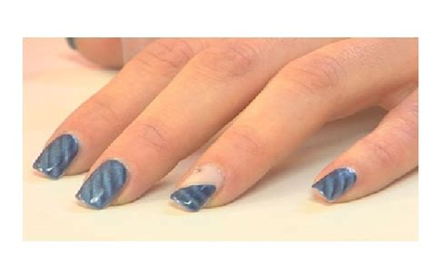 tutorial nail art mikeligna nail lab come realizzare la quot diamond twilight quot per unghie
