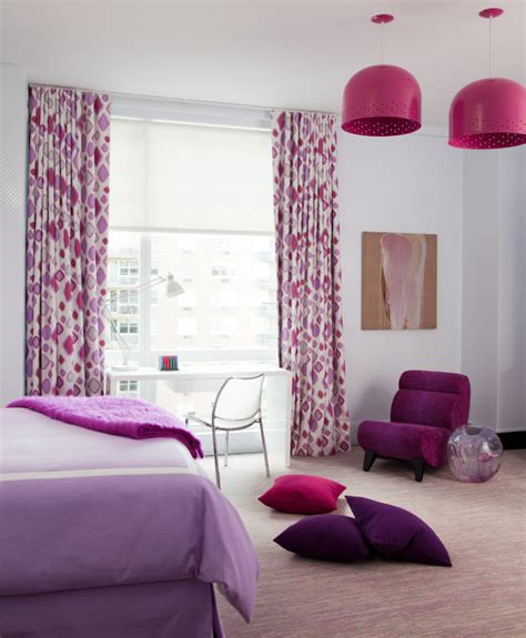 red and purple home decor pink and purple bedroom home decorating trends homedit