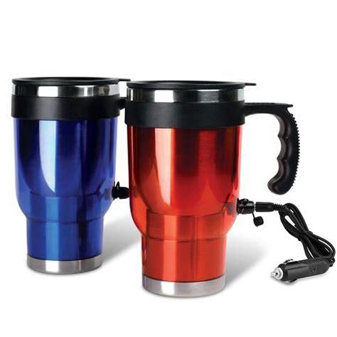 heated coffee mug 1 travel heated mug thermo stainless steel portable
