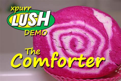 lush the comforter bubble bar lush the comforter bubble bar demo review youtube