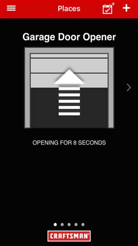 Craftsman Smart Garage Door Opener On The App Store Garage Door Iphone App