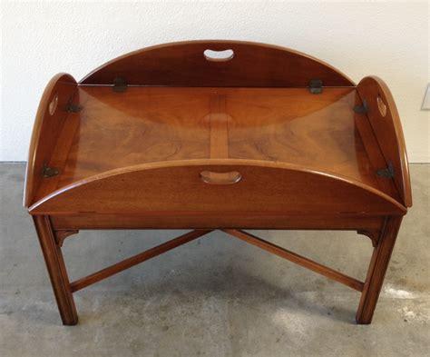 henredon coffee table modern vintage mix