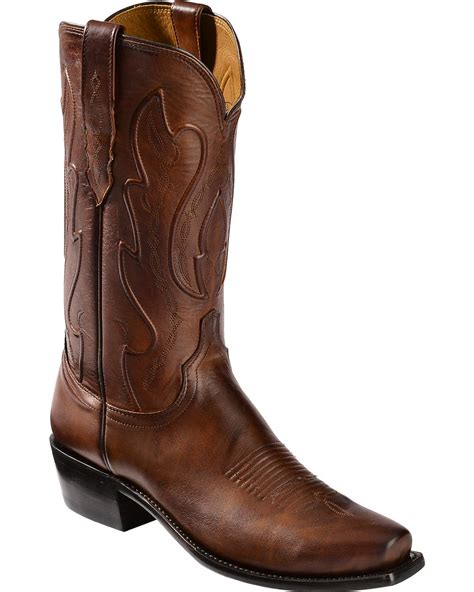 Cowboy Boots Handmade - lucchese s handmade 1883 cole cowboy boot snip toe