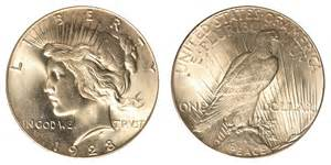 Price In Dollars 1928 Peace Silver Dollars Value And Prices