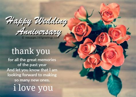 Wedding Anniversary Wishes Reply by Anniversary Messages For 365greetings