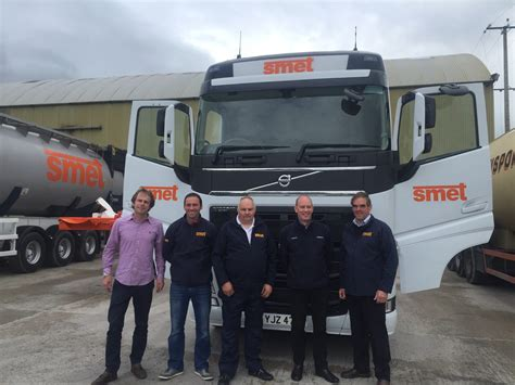 volvo trucks technical support fully committed to timely deliveries smet adds volvo