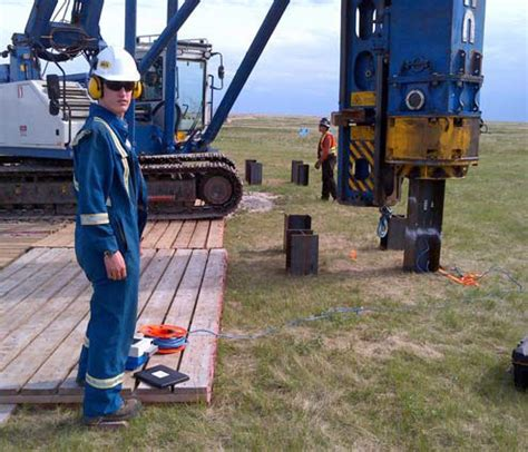 foundation monitoring pile driving analyser testing
