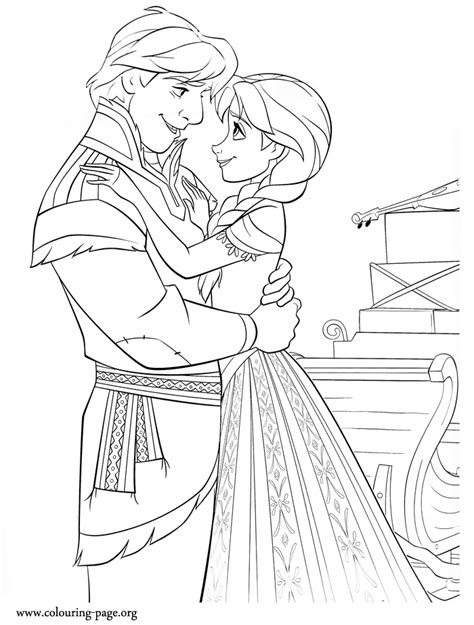 frozen coloring pages kristoff princess anna frozen coloring pages
