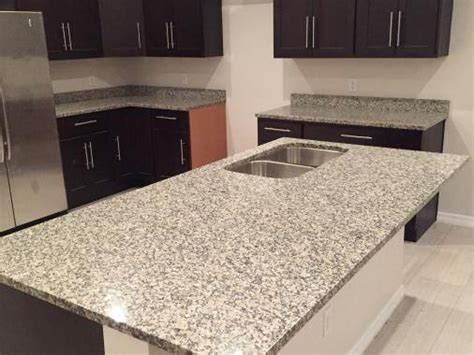Crema Julia Granite Countertops Installation Kitchen