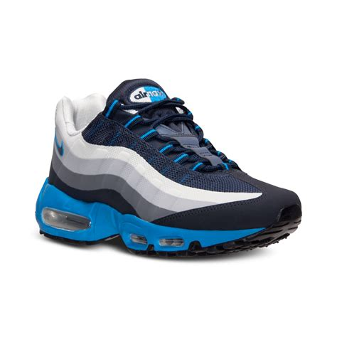 Kaos Kaki Nike Air White 02 nike mens air max 95 nosew running sneakers from finish line in blue for lyst