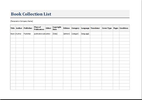 Book Inventory List Template For Excel Word Excel Templates Excel Library Template