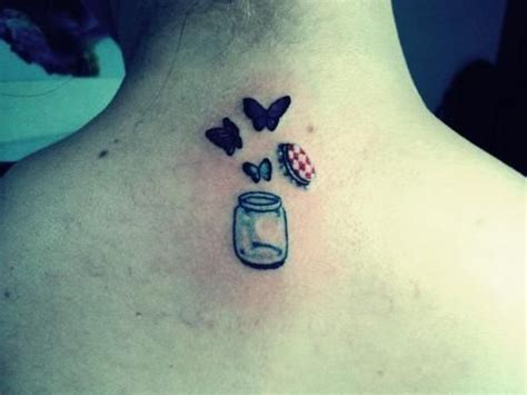 Butterfly Jar Tattoo | libertad tattoo pinterest jars tattoo simple and le