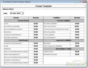 Balance Sheet Template Excel by Gallery Balance Sheet Format In Excel