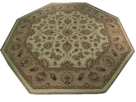Octagon Area Rug Octagon Area Rug Handmade Wool 8x8 Carpet Ebay