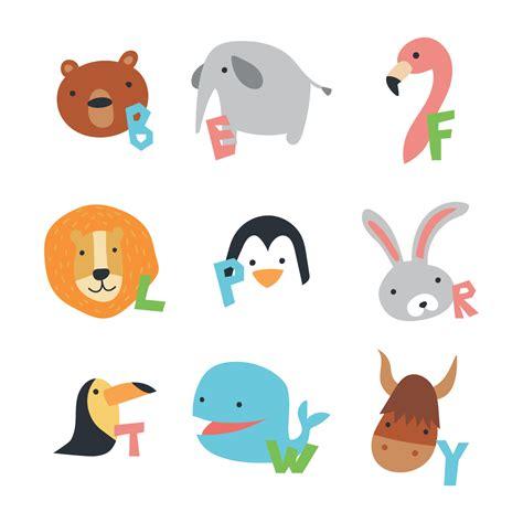 animal alphabet stock vector animal alphabet free vector stock graphics