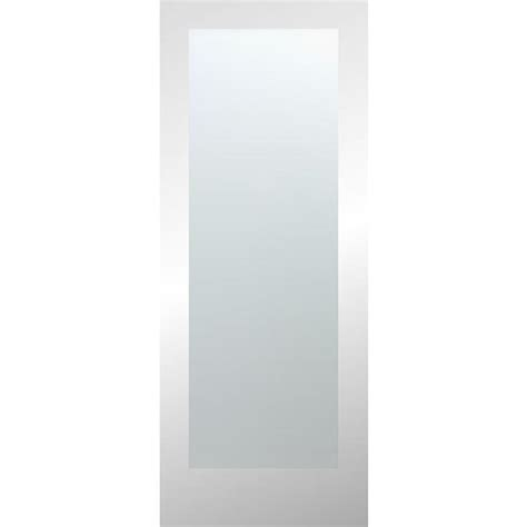 Slab Doors Interior by Shop Reliabilt 1 Lite Solid Non Bored Laminated Glass Interior Slab Door Common 24 In X