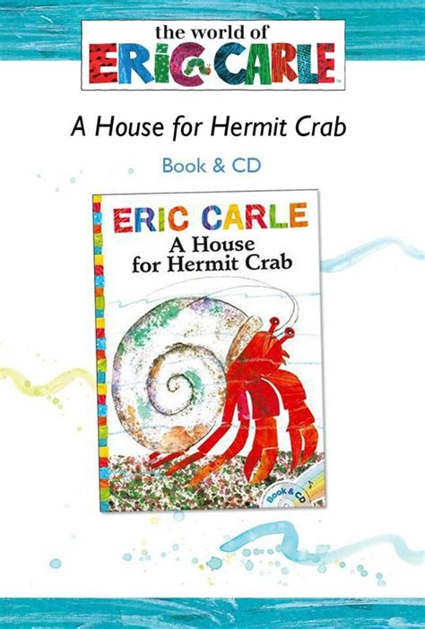 Eric Carle A House For Hermit Crab Hardcover 35 best oopsy artist eric carle images on