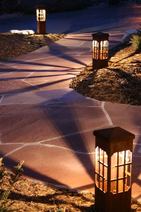 decorative landscape lighting best 25 path lights ideas on solar path
