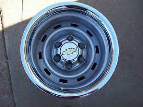 6 Lug Chevy Truck Rally Wheels For Sale 4 Chevy Truck 4x4 Or 2wd 15x8 6 Lug Rally Wheels Ebay